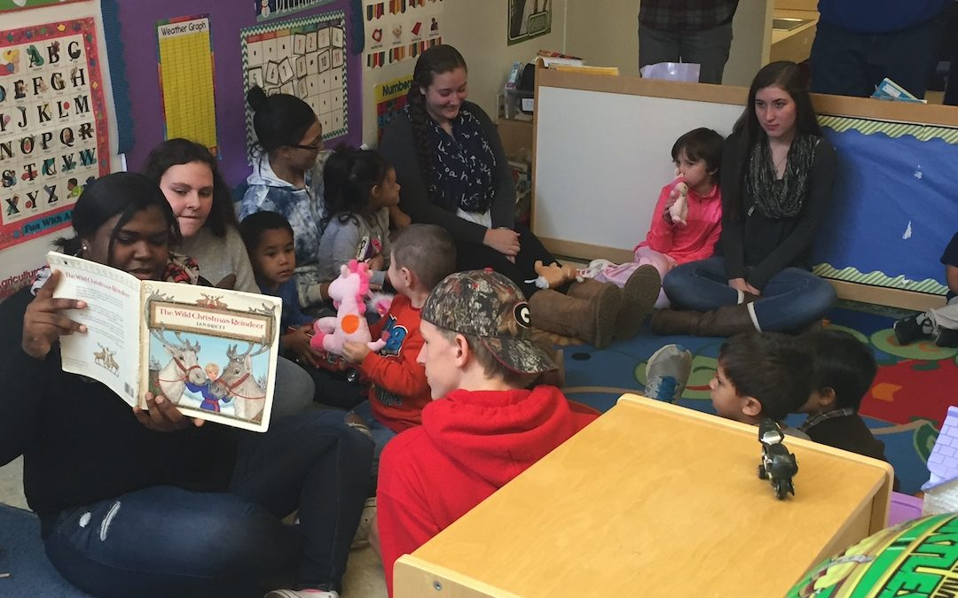 YMCA Child Care Receives Holiday Cheer