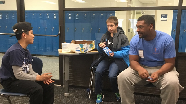 Nonprofit Brings UVa Mentors to Albemarle AVID Classes